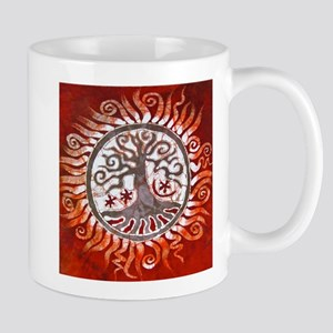 Red Tree of Life Mug